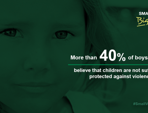 """""""Voices of Children Key to Stopping the Global Scourge of Violence Against Them"""""""