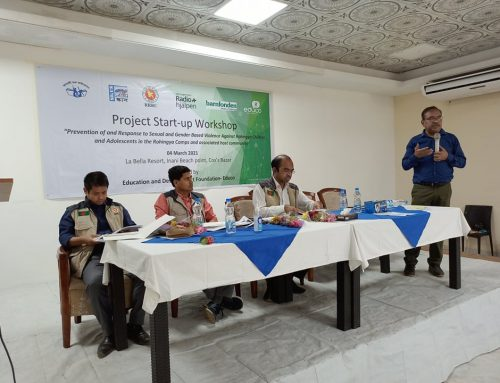 Project launching workshop at Cox's bazar